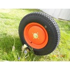 "Roue gazon orange 12"" étroite"